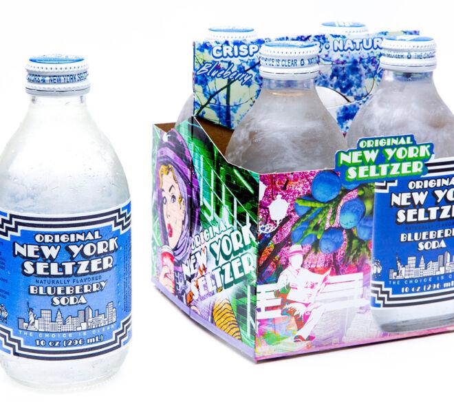 Blueberry 4pk Artist Series Carrier