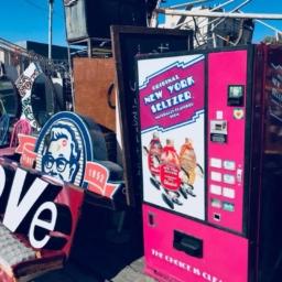 Vintage New York Seltzer Soda Machine